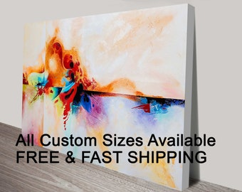 All Sizes Photo To Canvas - Personalized Canvas Print | Turn Your Image into Canvas | Photo on Canvas | Stretched Canvas Print Wall Canvas