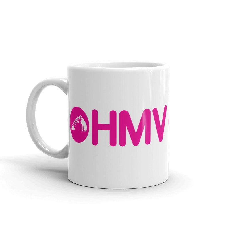 Vintage Coffee Mug From Hmv Company Coffee Cup Drinking Cup From Defunct Business Collector Item Unique Tea Cup