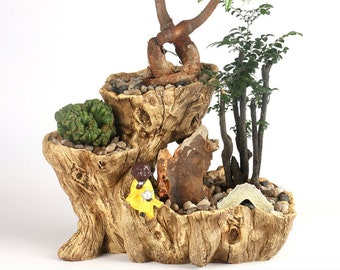 Groovy Faux Wood Stump Etsy Camellatalisay Diy Chair Ideas Camellatalisaycom