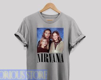 b56df2be Nirvana Hanson Shirt Nirvana Hanson t-shirt Funny Parody T-Shirt the Hanson  Brothers shirt vintage retro Unisex T-shirt For men & Women