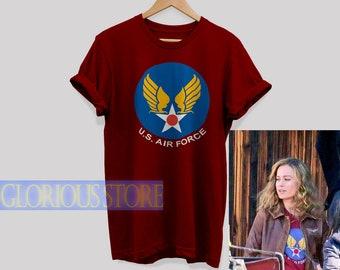 eeae863333dd US Air Force Shirt Captain Marvel shirt Captain Marvel tshirt Captain Marvel  Logo T-shirt Carol Danvers shirt Unisex T-shirt For men & Women