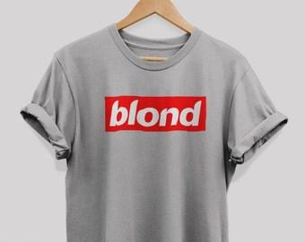 68fedd1e8 frank ocean shirt frank ocean Tshirt New Poster Blond shirt Funny Blond  Supreme shirt blond frank ocean Album Unisex T-shirt For men & Women