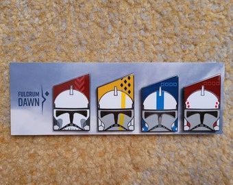 Flawed Rancor Battalion Pin Set & Singles