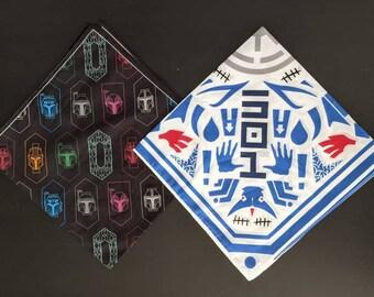 501st & Mandalorian Iron Hearts Bandanas