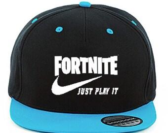 Fortnight Just Play It Snapback Cap 3f09734efa6b