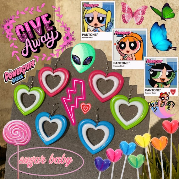 Powerpuff Girl Earrings