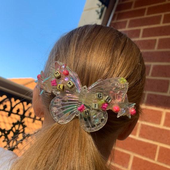 Fly High Butterfly Hair Clip
