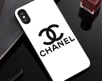 54a0a5a68688 Luxury Cases iPhone XS Max / Chanel Samsung S10 Plus Case / Chanel iPhone  XR, XS, 8 Plus, Cases / Logo Chanel Samsung S10, S9+, Note 9 Cases