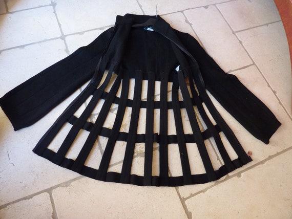 jacket gaultier cage, jean paul gaultier jpg
