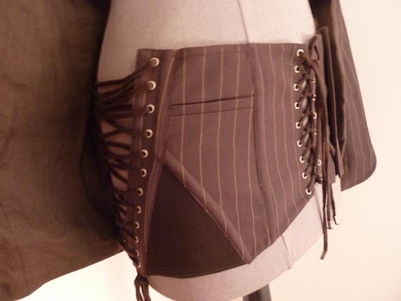 Jean Paul Gaultier jpg jacket corset, sheath