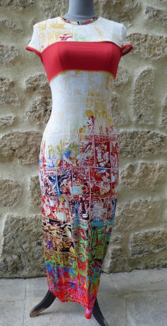 Gaultier cartoon dress