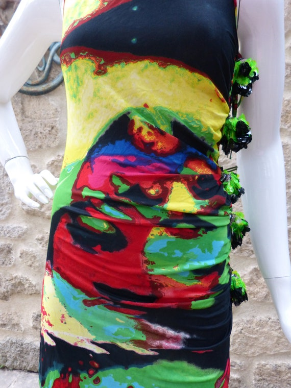 Gaultier pop art dress