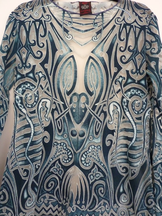 beautiful gaultier knit top from GAULTER,jpg jeans