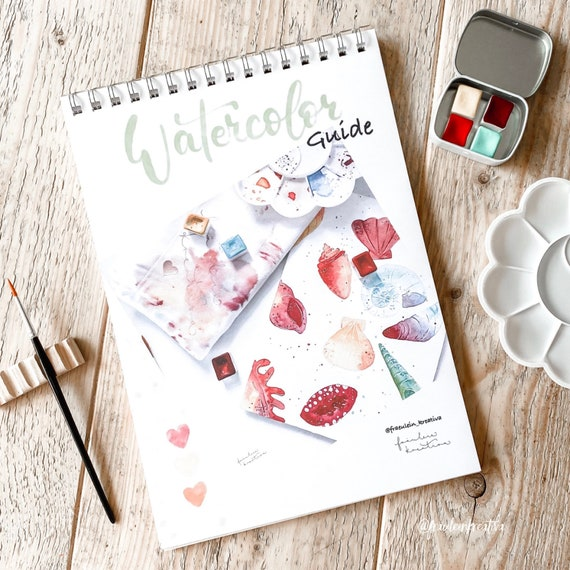 Watercolor beginner guide, tips and tricks incl. exercise part directly for painting in