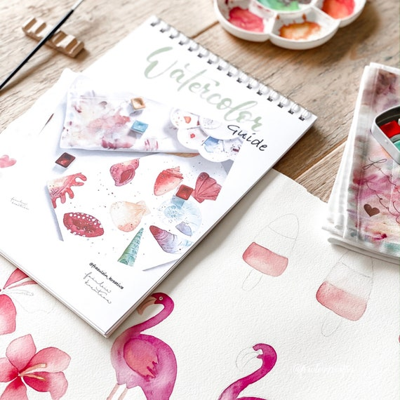 Creative Box No. IV, - Beginner Box, Starter Kit for the introduction to watercoloring / watercolor painting, #kreativascolors, Watercolor - Set
