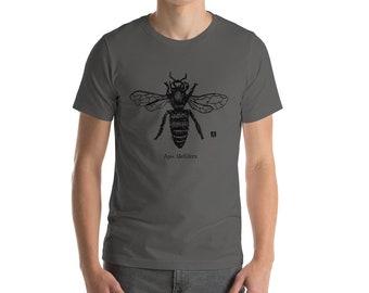 BellavanceInk: Apis Mellifera Beekeeping Short Sleeve T-Shirt