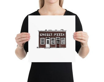 BellavanceInk: Charlottesville Area Attractions Crozet Pizza Restaurant Limited Prints