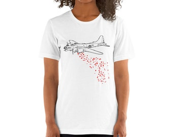 BellavanceInk: B17 Love Bomber  Short Sleeve T-Shirt