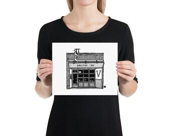 BellavanceInk: Charlottesville Area Attractions The College Inn Restaurant Limited Prints