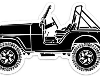BellavanceInk: Vintage SUV Vinyl Sticker Illustration