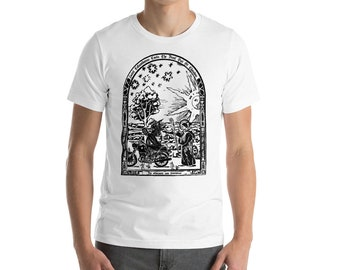 BellavanceInk: Saint Columbanus Patron Saint Of Motorcyclists Short Sleeve T-Shirt