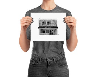 BellavanceInk: Charlottesville Area Attractions The Nook Diner Restaurant Limited Prints