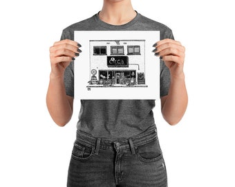 BellavanceInk: Charlottesville Area Attractions Circa Antique Store Front Limited Prints