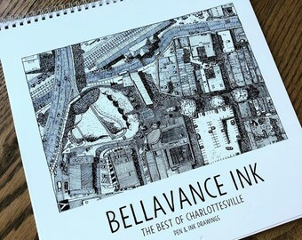 BellavanceInk: The Best of The Charlottesville Area Calendar Pre-Order 2020 For January