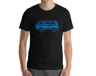 BellavanceInk: Vintage Vanagon Camper Van On a Short Sleeve T-Shirt