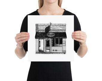 BellavanceInk: Charlottesville Area Attractions The Virginian Restaurant Limited Prints