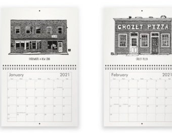 BellavanceInk: 2021 Best of Crozet Pen & Ink Drawings Calendars