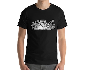 BellavanceInk: Octopus With Multiple Cups Of Coffee Short Sleeve T-Shirt