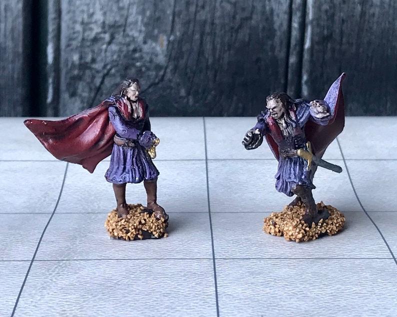 Hand-painted Wizkids Resin Vampire