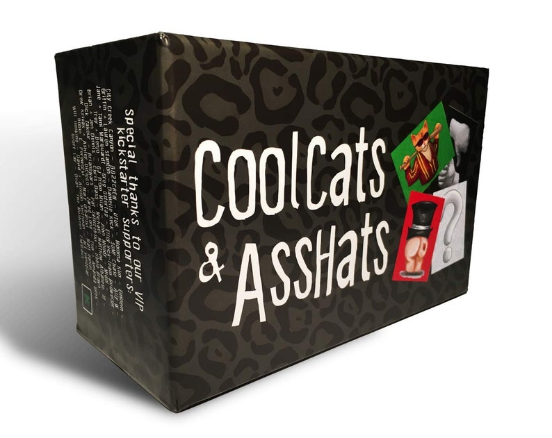 Adult Drinking Card Game for Parties CoolCats /& AssHats