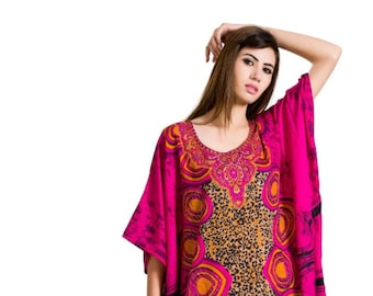 71cba43c3e0 Indian Textilearts Caftan Plus Size and Women
