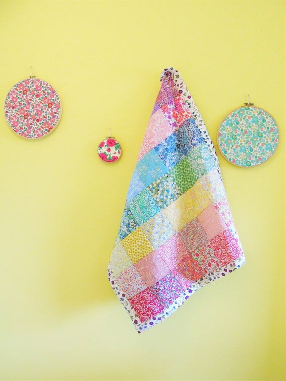 Rainbow Heirloom Quilt