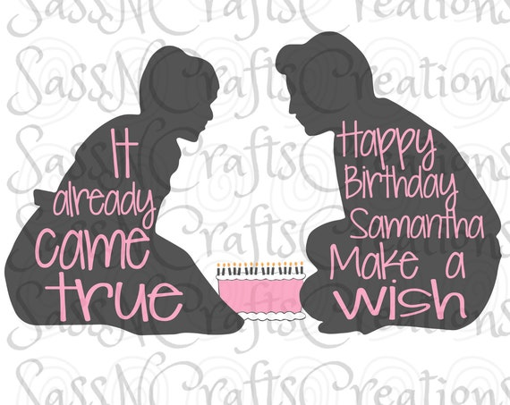 Make a Wish Sixteen Candles SVG File for Cricut, SCAL, Scan and Cut, Inkscape, Silhouette
