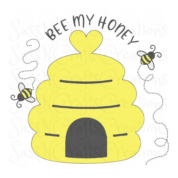 Bee My Honey Sublimation Design