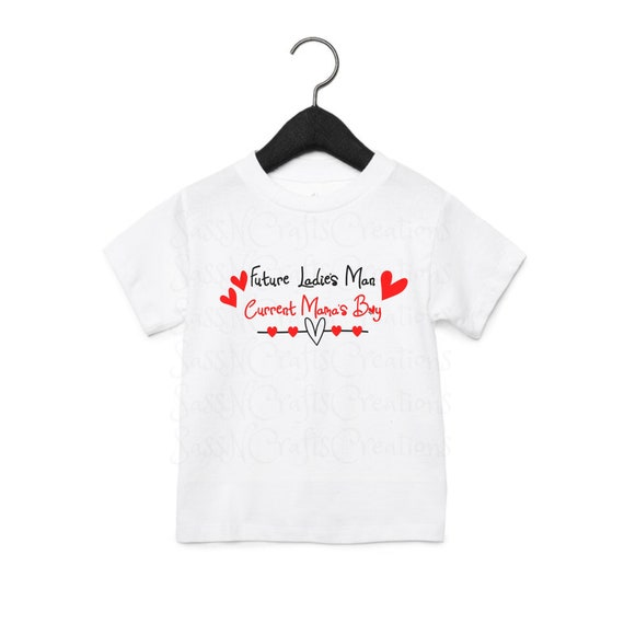 Future Ladies Man Current Mama's Boy SVG File for Cricut, SCAL, Scan and Cut, Inkscape, Silhouette