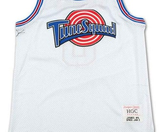 1cd8eb14ae90 Space Jam Lebron James Tunesquad Basketball Jersey