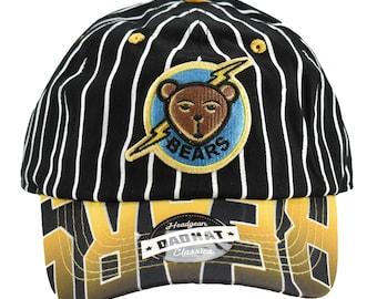 save off d020d b8b16 Bad News Bears Tanner Boyle Black Pinstripe Dad Hat