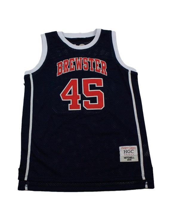 premium selection 79646 8fb1e Donovan Mitchell Navy High School Basketball Jersey