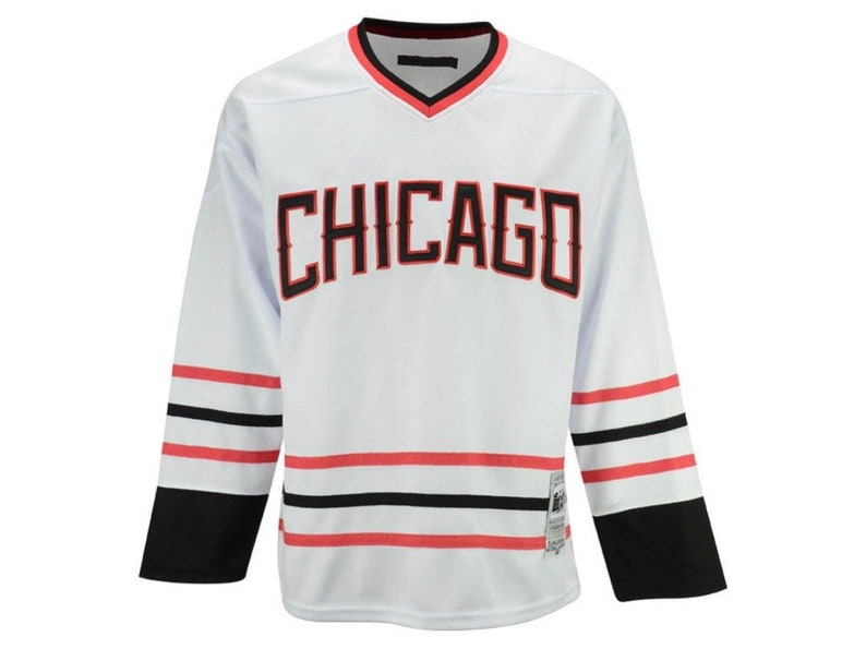 hot sale online 1452f 48854 Clark Griswold National Lampoons White Hockey Jersey
