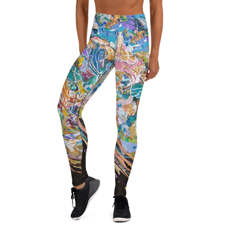 Yoga Leggings  Painting Our World with Color by Ellen image 0