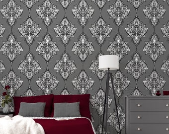 Wall Sticker Vintage Style Ethnic Wallpaper Peel And Stick Wall Mural Animal Skins Pattern With Watercolor Effect Temporary Wallpaper Door Hangers Home Living