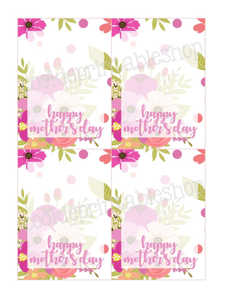 picture about Happy Mothers Day Printable Cards referred to as pleased moms working day PRINTABLE CARD