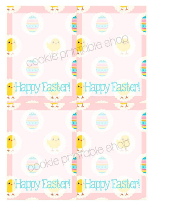 picture about Happy Easter Printable called content easter PRINTABLE CARD