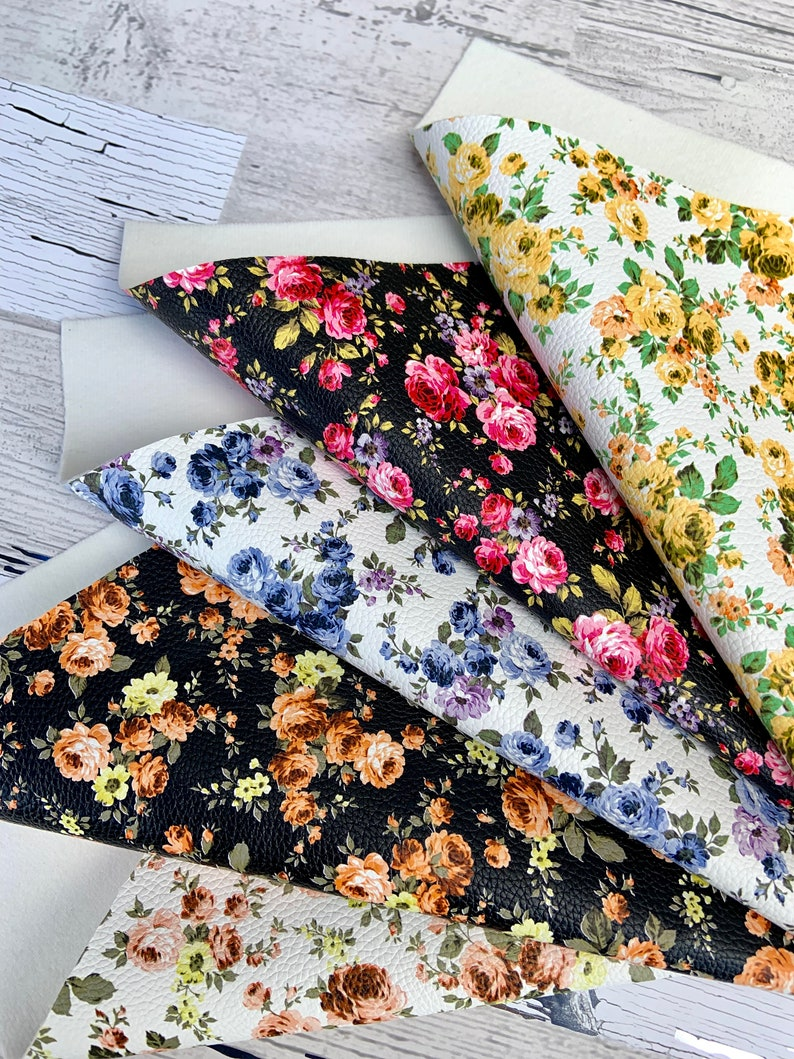 Faux flowers Hair bow. Printed faux leather Faux leather sheets Diy leather leather pieces wholesale Leather sheet