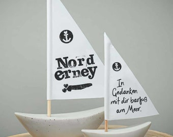 Maritime boats Norderney