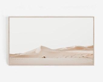 Samsung TV Frame Art, Sahara Desert Print, Morocco Poster, Landscape, Digital Download, Horizontal Wall Decor